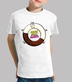 graciosa gráfica de donuts populares