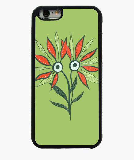 Funda iPhone 6 / 6S gracioso monstruo de flores lindo