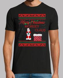 gracioso santa momsey claus navidad