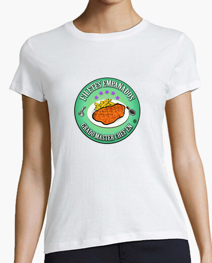 Camiseta Grado Master Chef Filetes Empanados