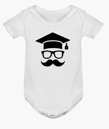 Vêtements enfant graduation étudiant moustache