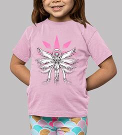 Graffiti Angel of Light Kids Shirt