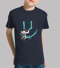 graffiti astronaut t-shirt