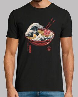 gran ramen wave shirt para hombre