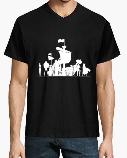 Camiseta gran tripulación pirata