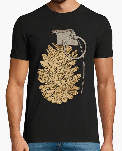 Camiseta granada de piña de pino
