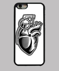 Granate Herz