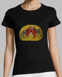 granchio colorata camicia donna