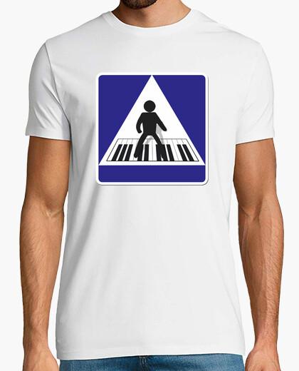 Tee-shirt grand piano,