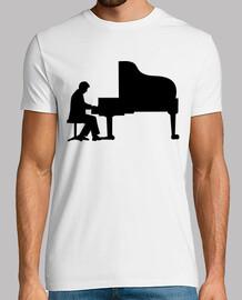 grand piano pianiste