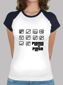 Grand Theft Plomo - T-Shirt Femme