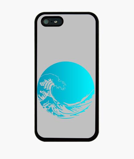 Coque iPhone grande vague de kanagawa