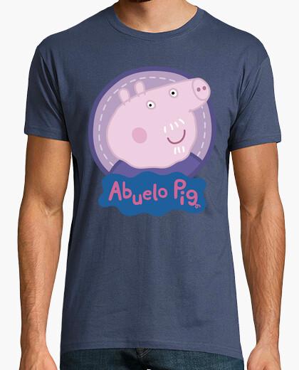 Grandfather pig t-shirt