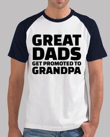 grands papas promus à grand-papa