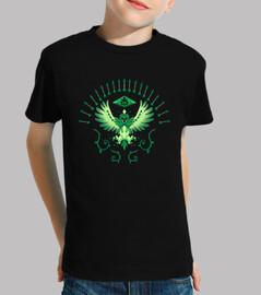 grass arrow strike - kids shirt