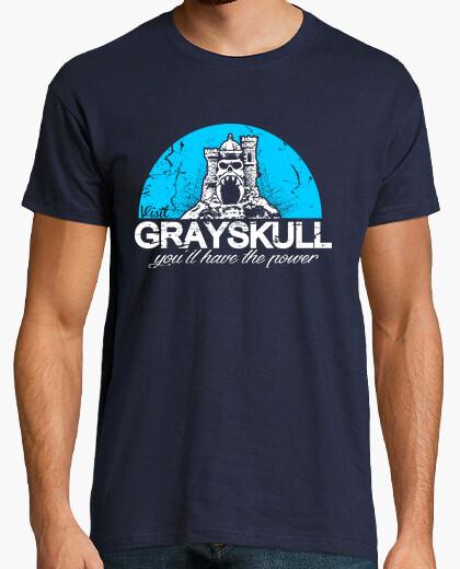 Tee-shirt grayskull