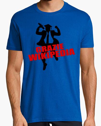 T-shirt Grazie Wikipedia