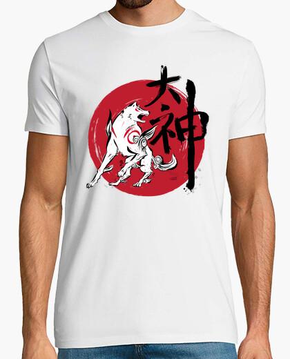 Camiseta Great God sumi-e