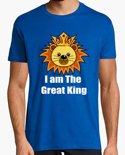 Camiseta Great Lion King diseño de camisa para regalos
