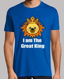 Great Lion King diseño de camisa para regalos