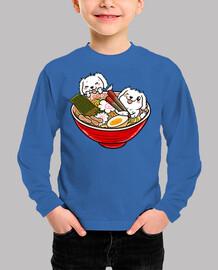 great ramen pyrenees dog