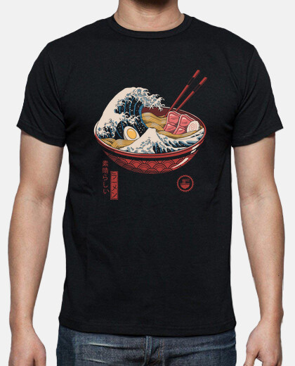 Great Ramen Wave Shirt Mens