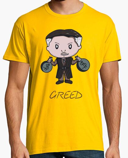 Greed- Camiseta hombre