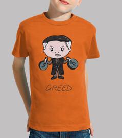 greed- camiseta kind