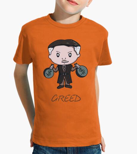 Ropa infantil Greed- Camiseta niño