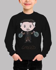 Greed- Camiseta niño