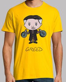 greed- t-shirt da uomo