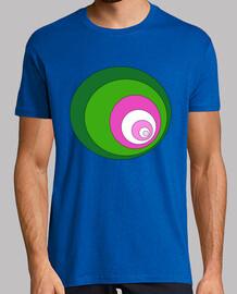 Green and Pink Circles
