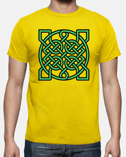 Camisetas Green Celtic Knot