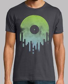 green dripping vinyl