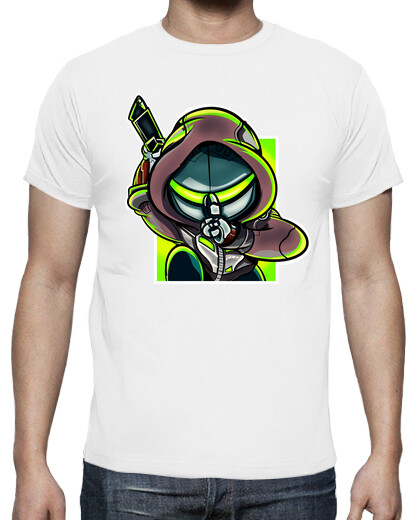 Open T-shirts video games-gaming