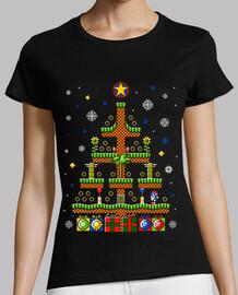 green hill christmas / sonic t-shirt moche pull / femmes