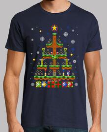 green hill christmas / sonic t-shirt moche pull / mens