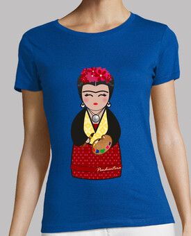 green shirt kokeshi frida kahlo