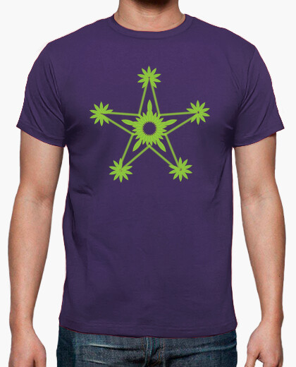 Camiseta Green Star.