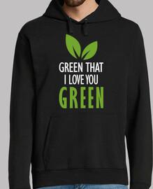 green that I love you green (dark)