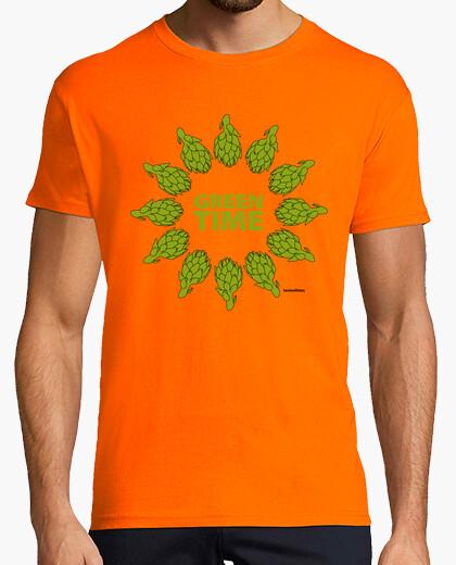 Green time t-shirt