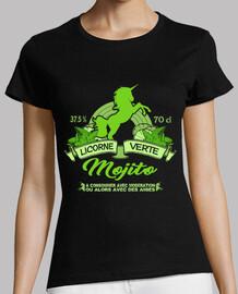 green unicorn mojito