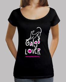 greyhound lover fucsia bianco