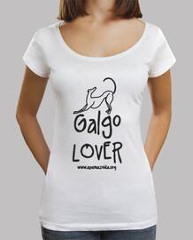 greyhound lover lettera nera