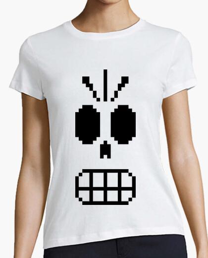 Tee-shirt grim fandango (noir) (femme)