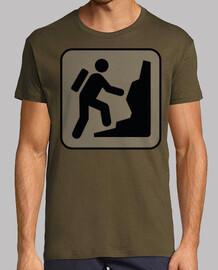 grimpeur / backpacker / signal / randon
