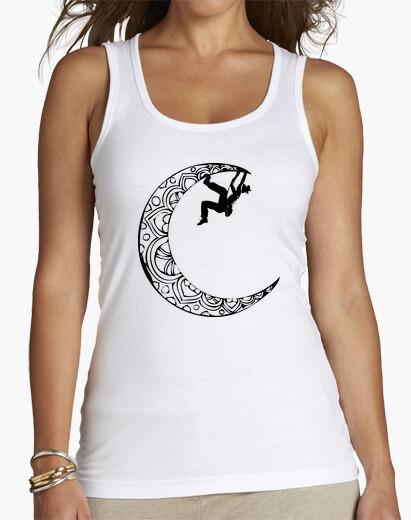Tee-shirt grimpeur sur la lune