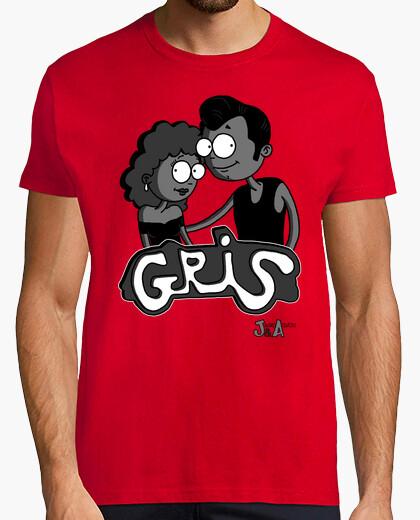 Camiseta Gris - Chico