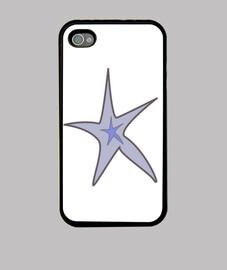 gris et bleu étoiles de mer