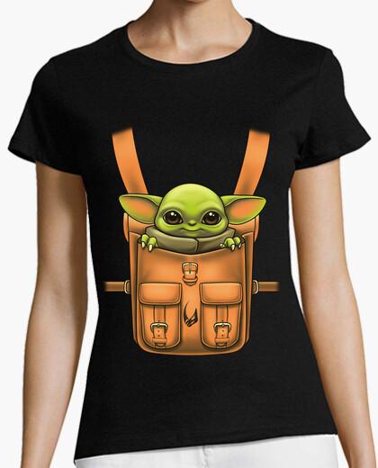 Camiseta Grogu in my Backpack